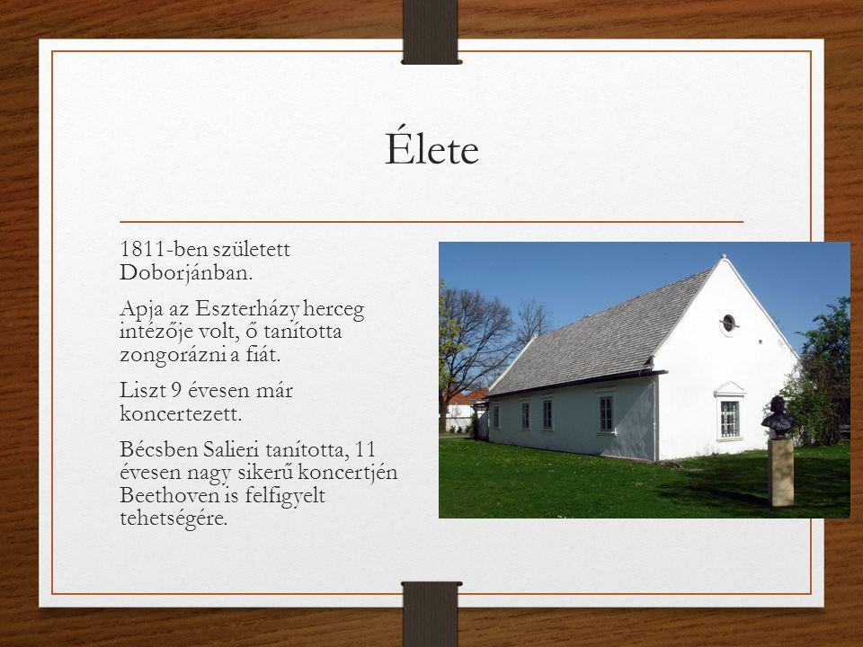 Élete 1811-ben született Doborjánban.