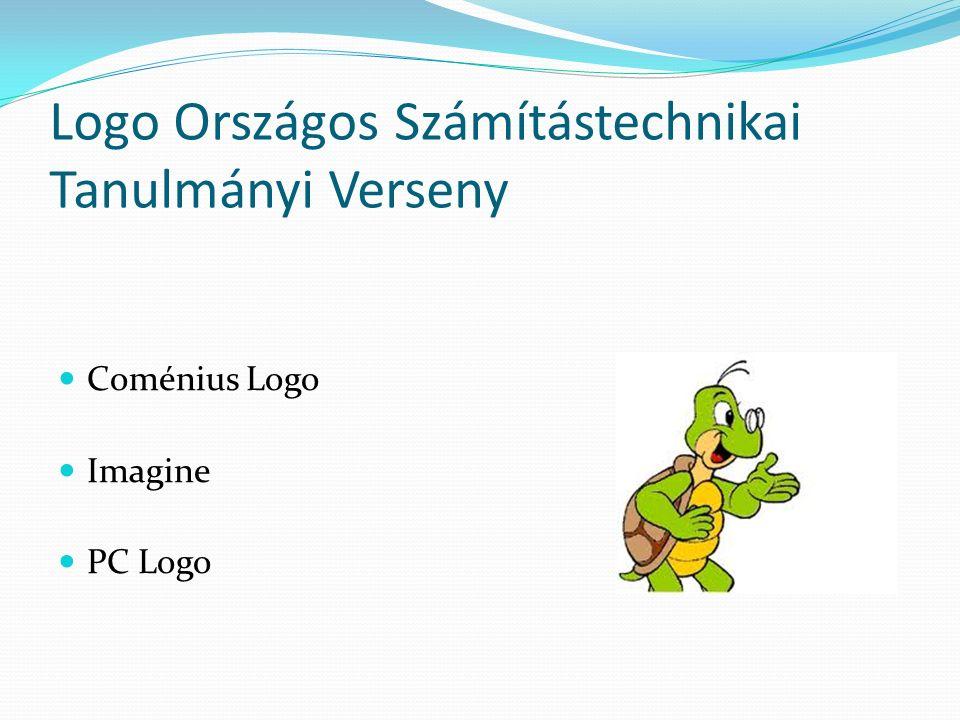 Logo Országos Számítástechnikai Tanulmányi Verseny Coménius Logo Imagine PC Logo