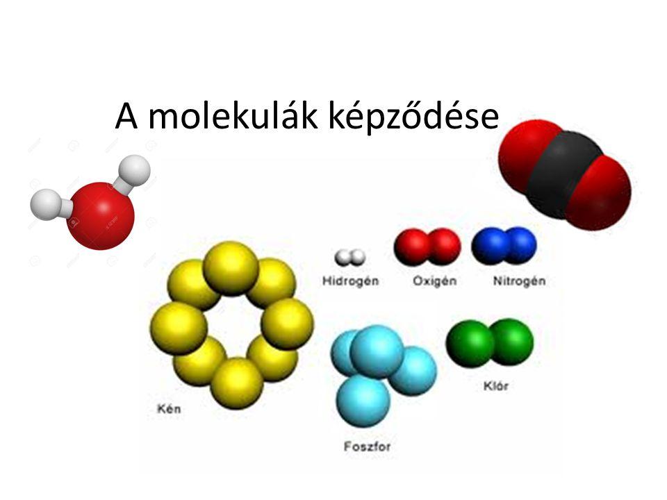 A molekulák képződése