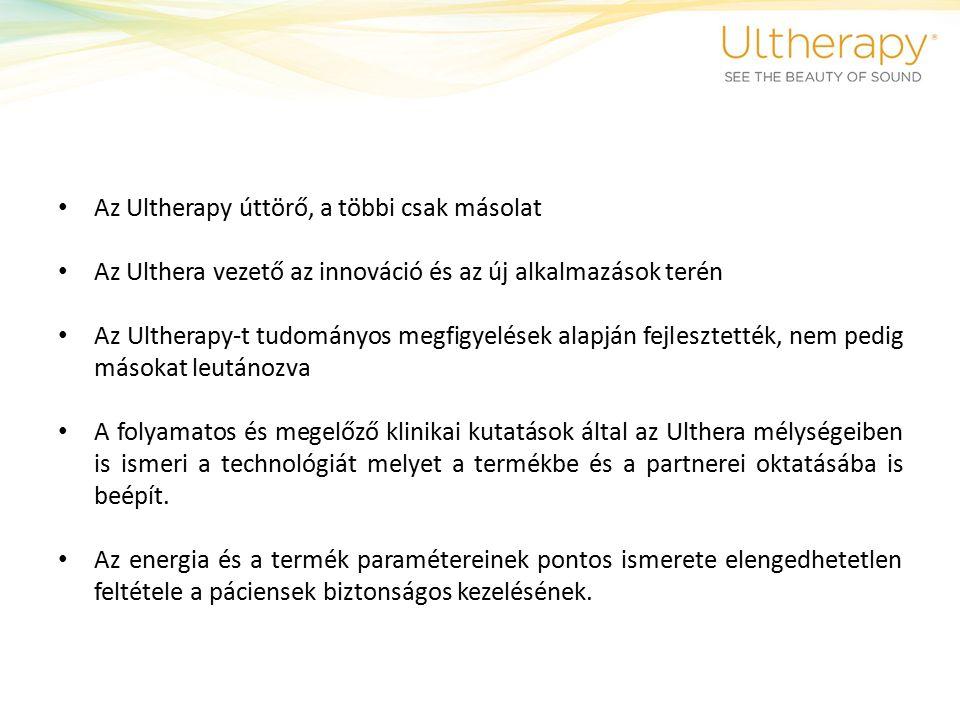 Az egyetlen USA FDA engedéllyel rendelkező nem sebészeti lifting Az Ulthera berendezés az egyetlen a világon amely rendelkezik az amerikai FDA engedélyével lifting indikációkra, képalkotással.