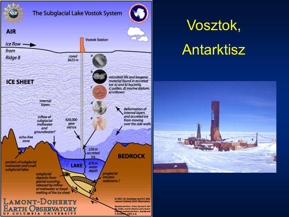 Vosztok, Antarktisz