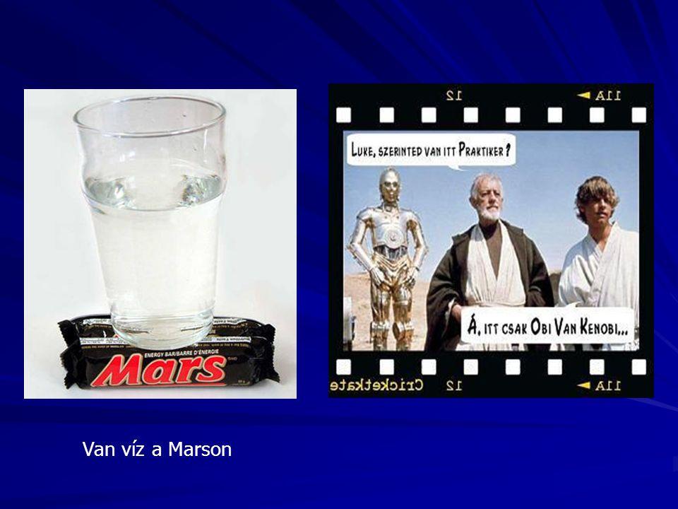 Van víz a Marson