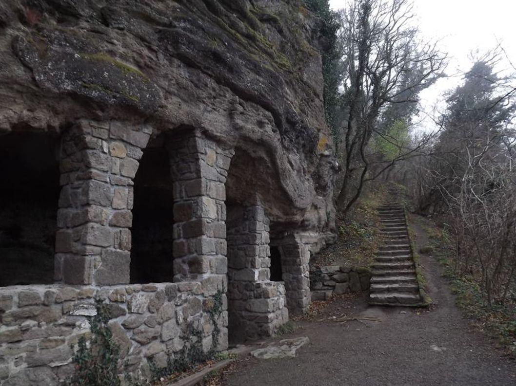Szélmarta sziklák, pihenőhely