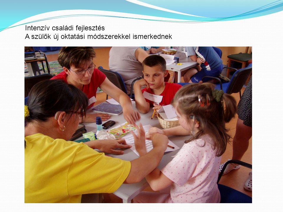 A szülők új oktatási módszerekkel ismerkednek