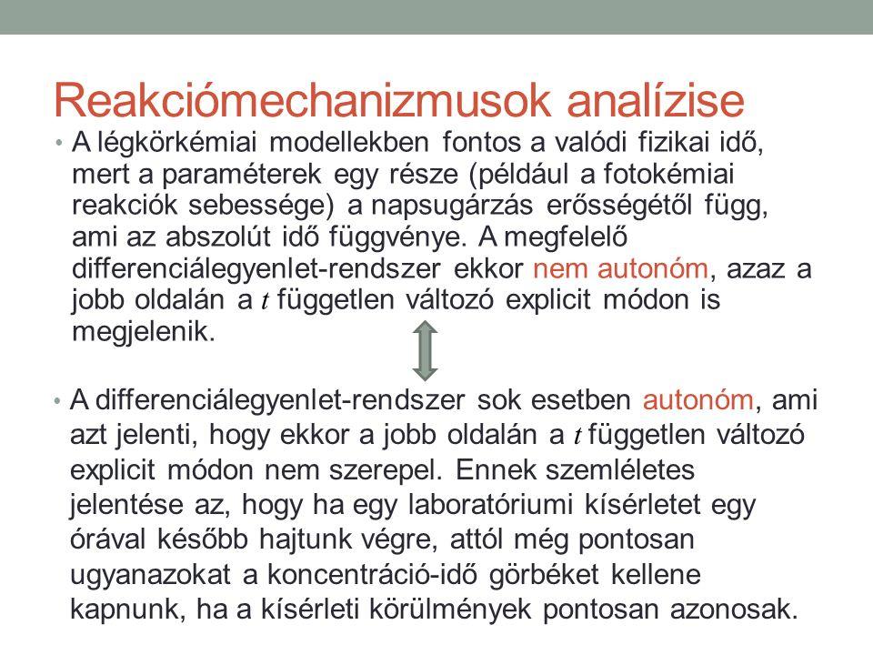 Például az illékony szerves anyagok légkörkémiai átalakulásait leíró összevont mechanizmusokban általában háromféle alifás aldehid szerepel: HCHO, CH 3 CHO és RCHO.