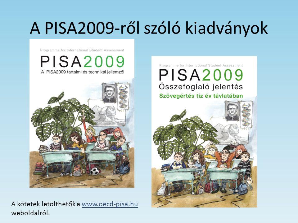 Olvasási szokások 2000 óta az OECD-országok tizenöt éves diákjai között átlagosan csökkent az olvasási hajlandóság (68 % helyett 63% olvas naponta magától); – Magyarországon ez az érték 75 % volt 2000-ben, és nem csökkent (Szerbia, 2009: 76,5%) – Növekedett azok aránya, akik kedvtelésből olvasnak szépirodalmat (6,3%-kal), és kiugróan megnőtt az újságolvasó diákok aránya (40%-kal) Magyarországon 2000 óta relatíve kevésbé változatosan olvasnak az OECD diákjai – Magyarországon az ellenkezője játszódott le: a magyar diákok szignifikánsan sokszínűbben olvastak 2009-ben, mint 2000- ben; Szerbia: az OECD-átlagnak megfelelő