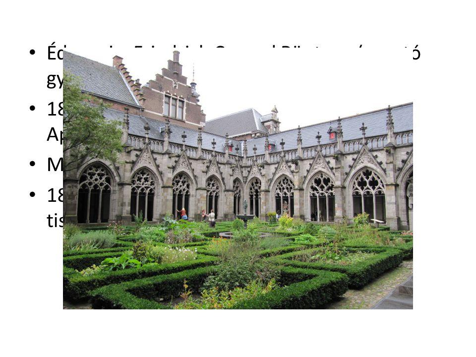Édesapja, Friedrich Conrad Röntgen (posztó gyáros) 1848-ban a családfő a gyárát áttelepítette Appeldoorn-ba (elemi iskoláját itt végezte) Majd Utrechtben a Polgári Iskolába járt 1863-ban pedig kizárták az érettségiből tiszteletlenség miatt
