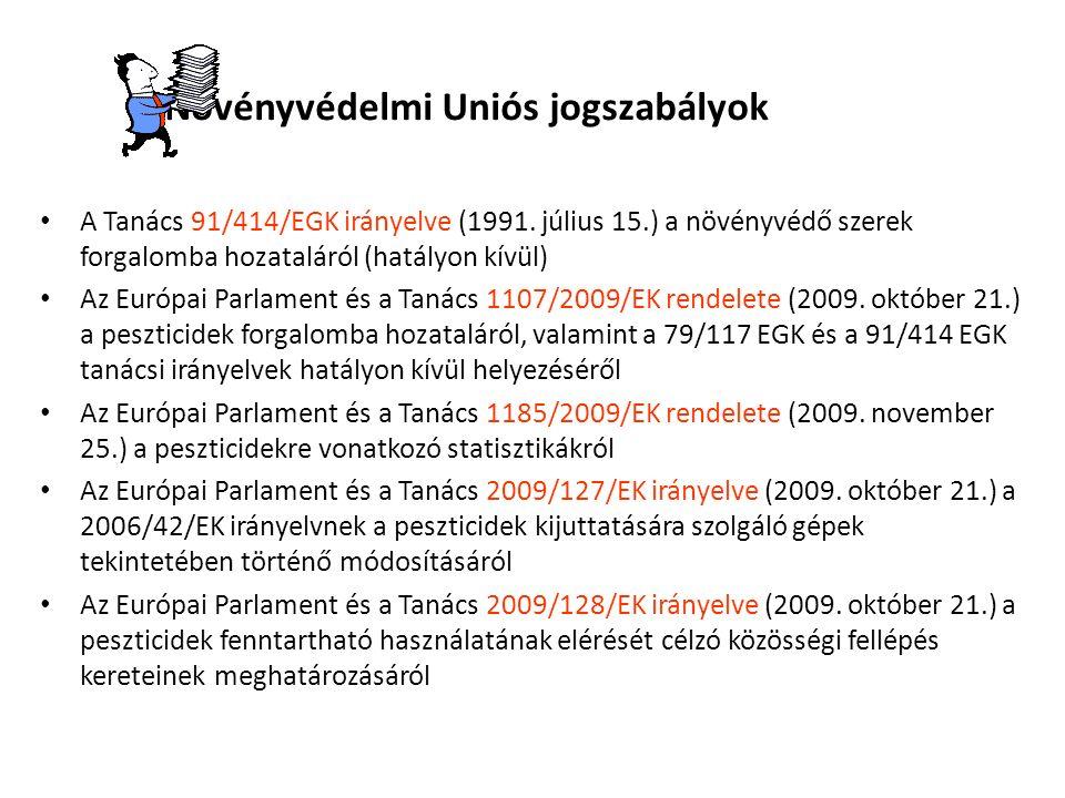 Reklámozás Az Éltv.13. § (1) és (2) bekezdése, valamint a 1107/2009/EK rendelet 66.
