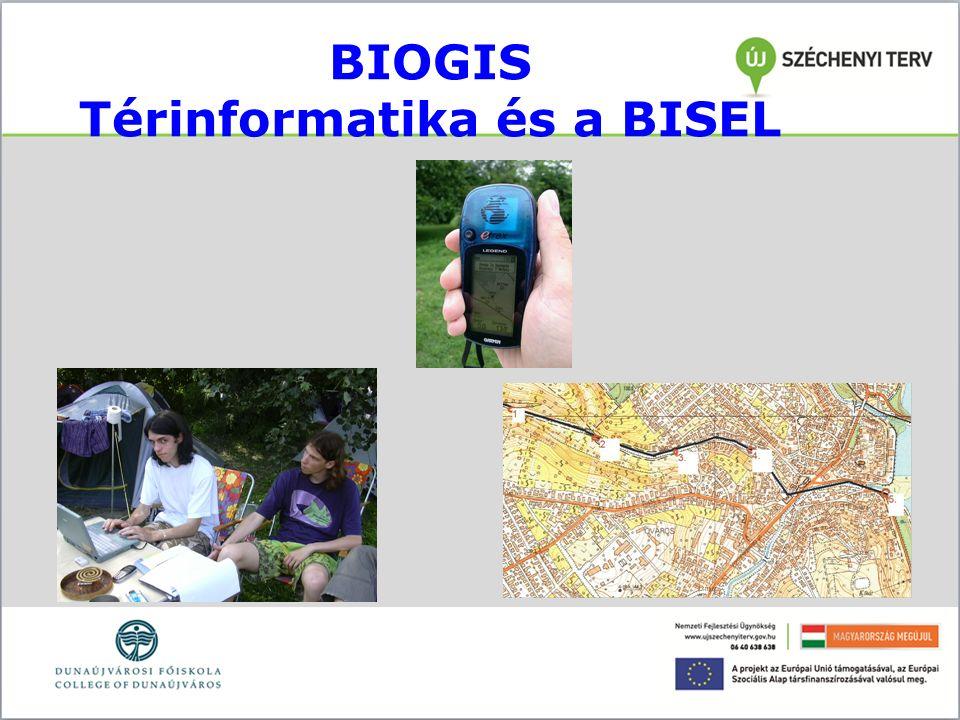 BIOGIS Térinformatika és a BISEL