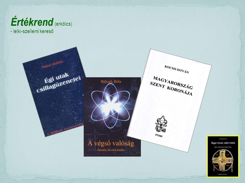 Értékrend (erkölcs) - lelki-szellemi kereső