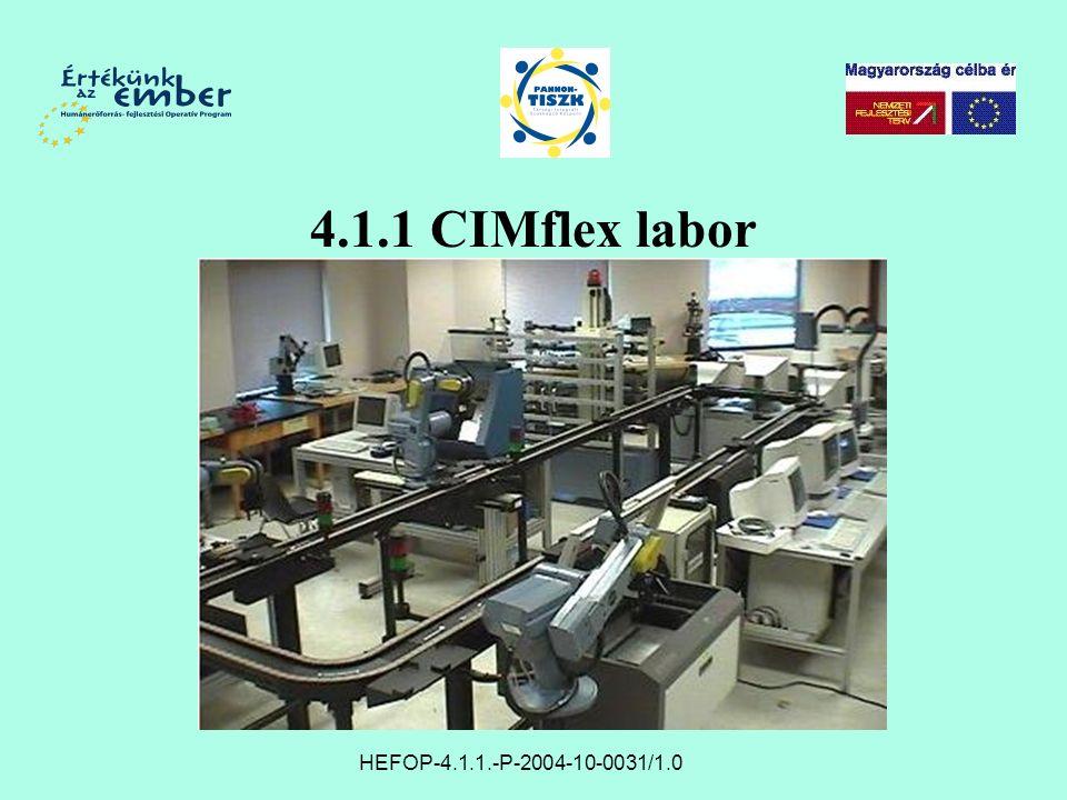 4.1.1 CIMflex labor HEFOP-4.1.1.-P-2004-10-0031/1.0