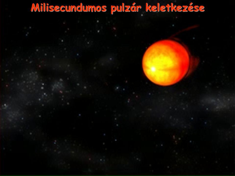 Milisecundumos pulzár keletkezése