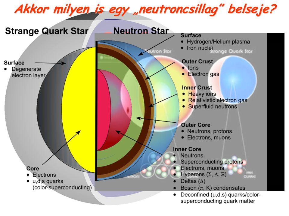 """Akkor milyen is egy """"neutroncsillag"""" belseje? ?????? ??? ??? ???"""