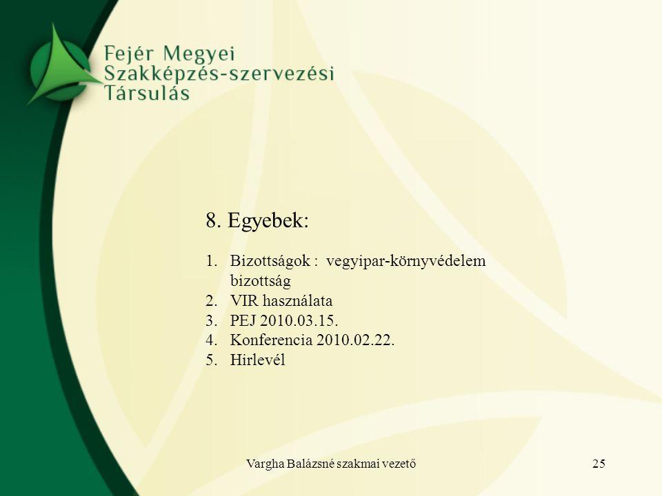 Vargha Balázsné szakmai vezető25 8.