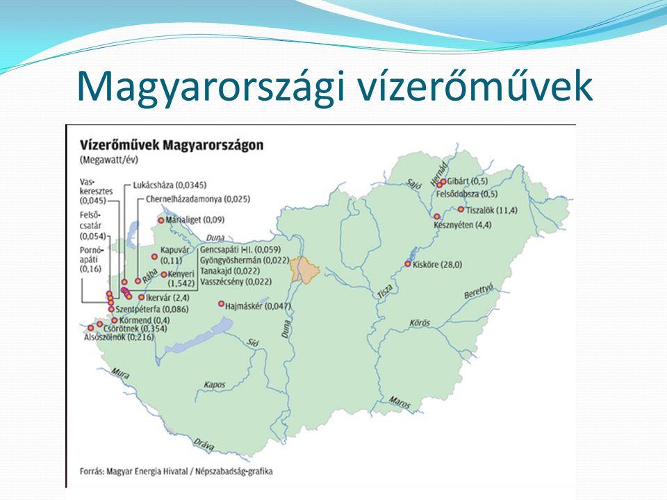Magyarországi vízerőművek