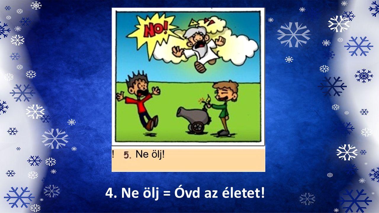 4. Ne ölj = Óvd az életet!