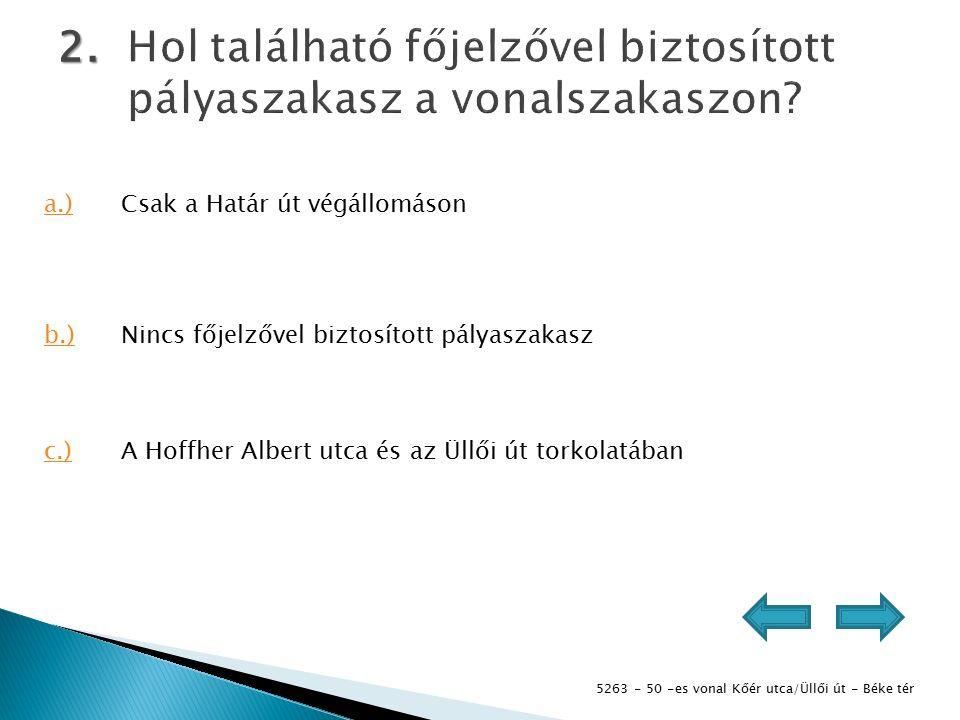 5263 - 50 -es vonal Kőér utca/Üllői út - Béke tér 3.