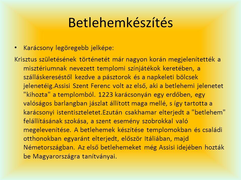 Vörsi betlehem Vörsi Betlehem.