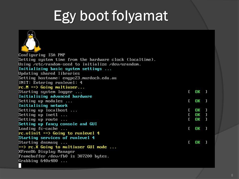 Egy boot folyamat 8