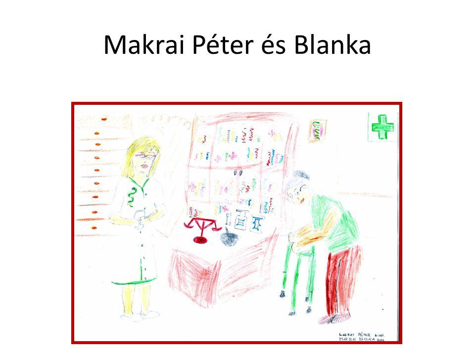 Makrai Péter és Blanka