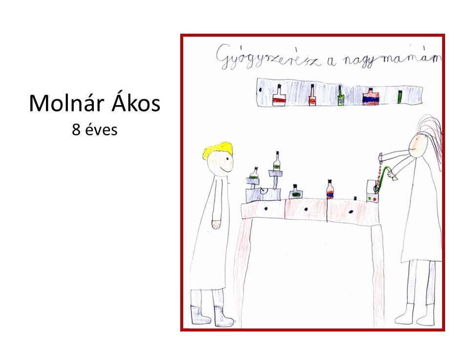 Molnár Ákos 8 éves