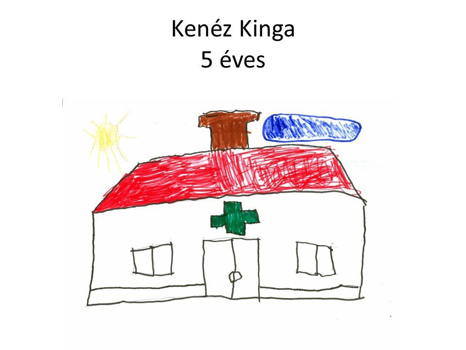 Kenéz Kinga 5 éves