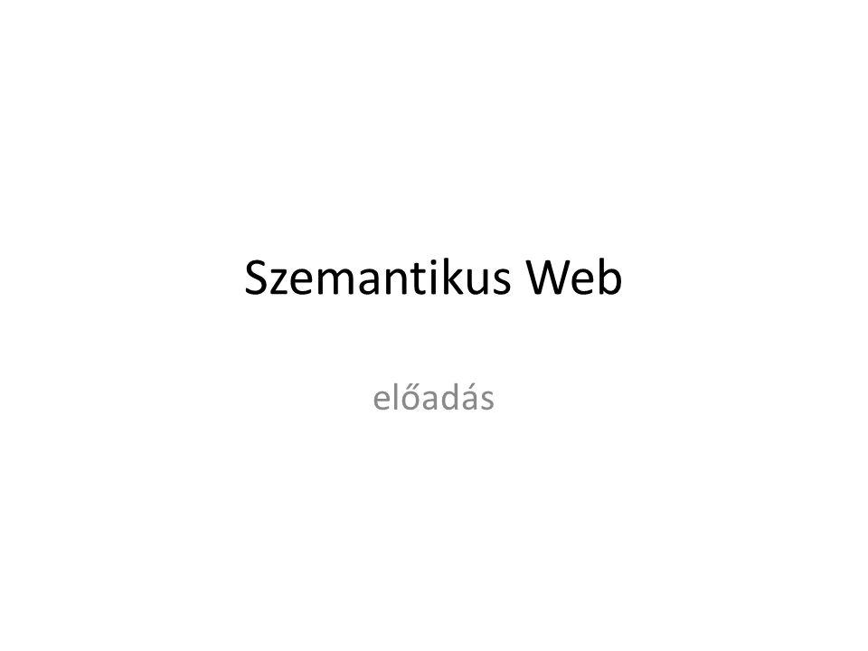 Szemantikus Web előadás