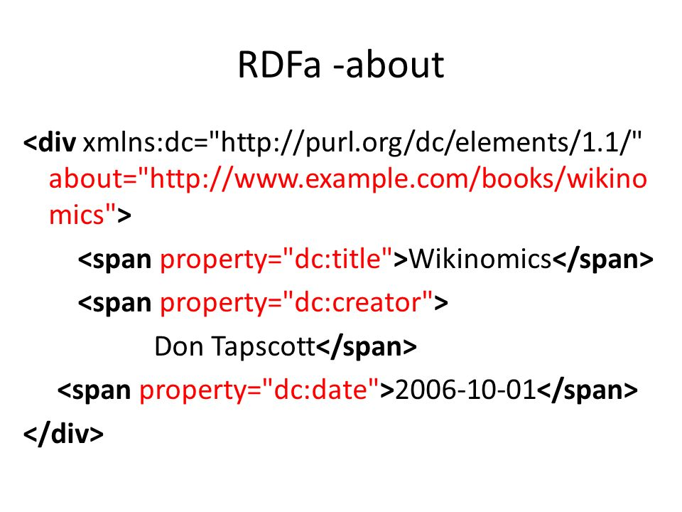RDFa -about Wikinomics Don Tapscott 2006-10-01
