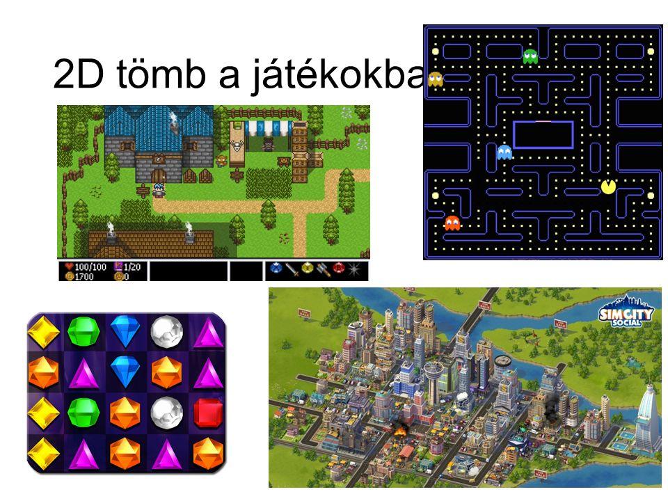 2D tömb a játékokban