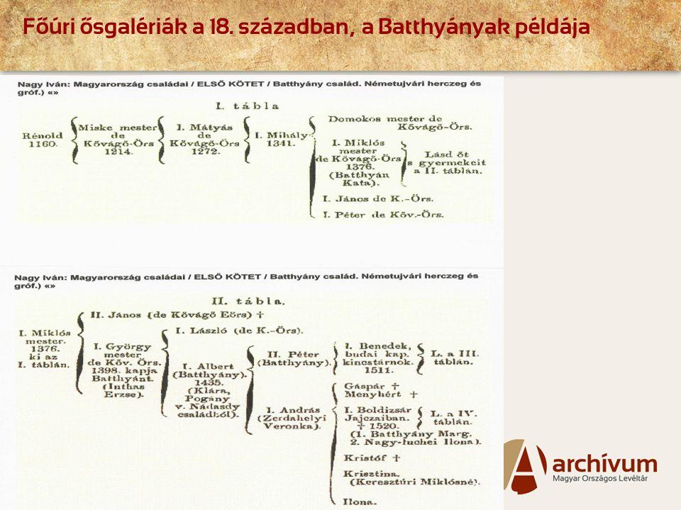 Page  4 Főúri ősgalériák a 18. században, a Batthyányak példája
