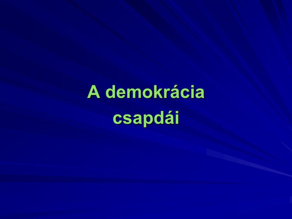 A demokrácia csapdái