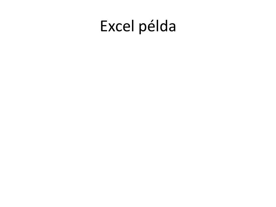 Excel példa