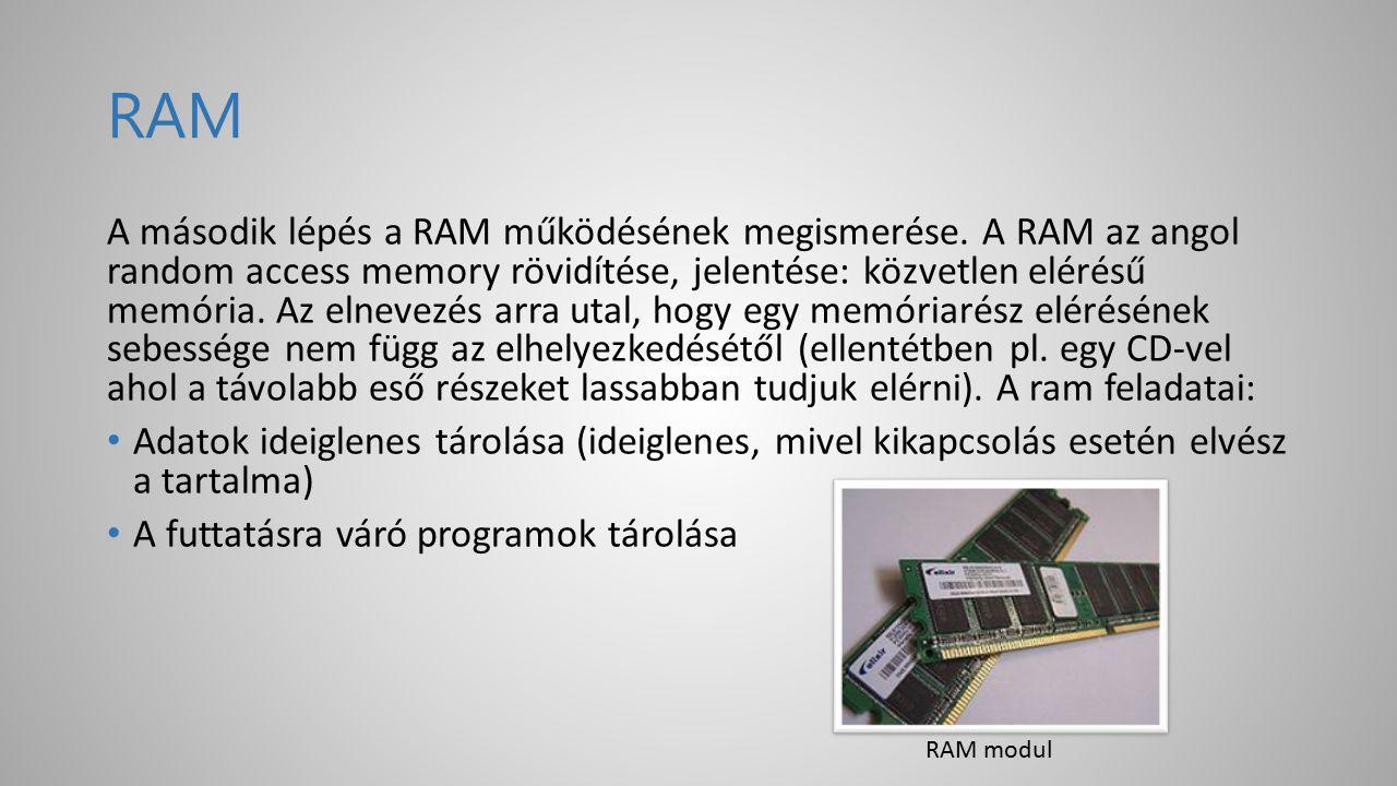BIOS A BIOS az alaplapon, egy külön chipben, valamint a bővítőkártyákon található. Feladatai: A BIOS teremti meg a kapcsolatot a szoftver és a hardver