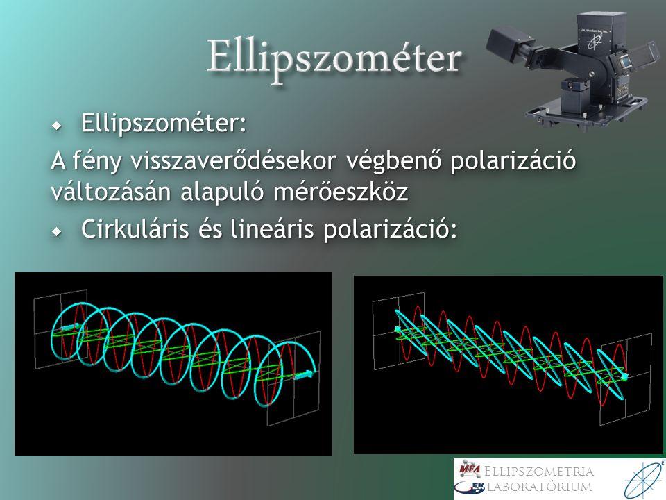 Ellipszometria laboratórium