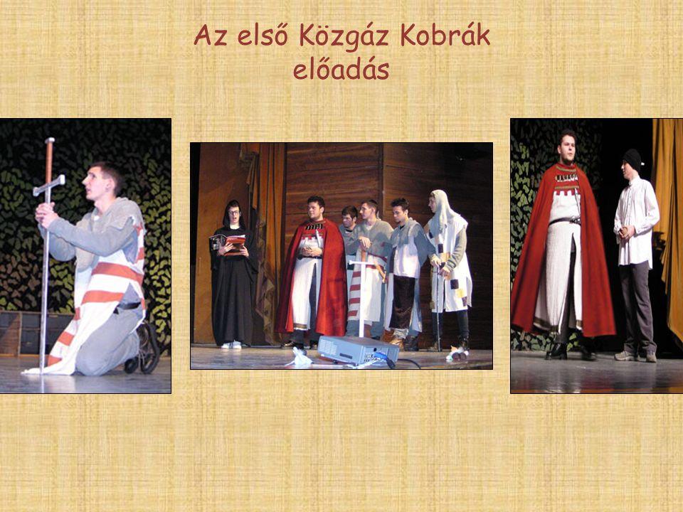 Az első Közgáz Kobrák előadás