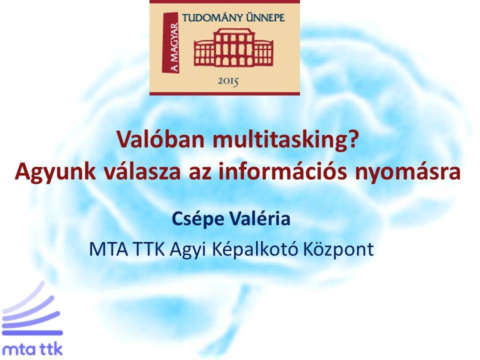 Témavázlat Az olvasás új formái Digitális elmerülés Az okos eszközök világa Multitasking?