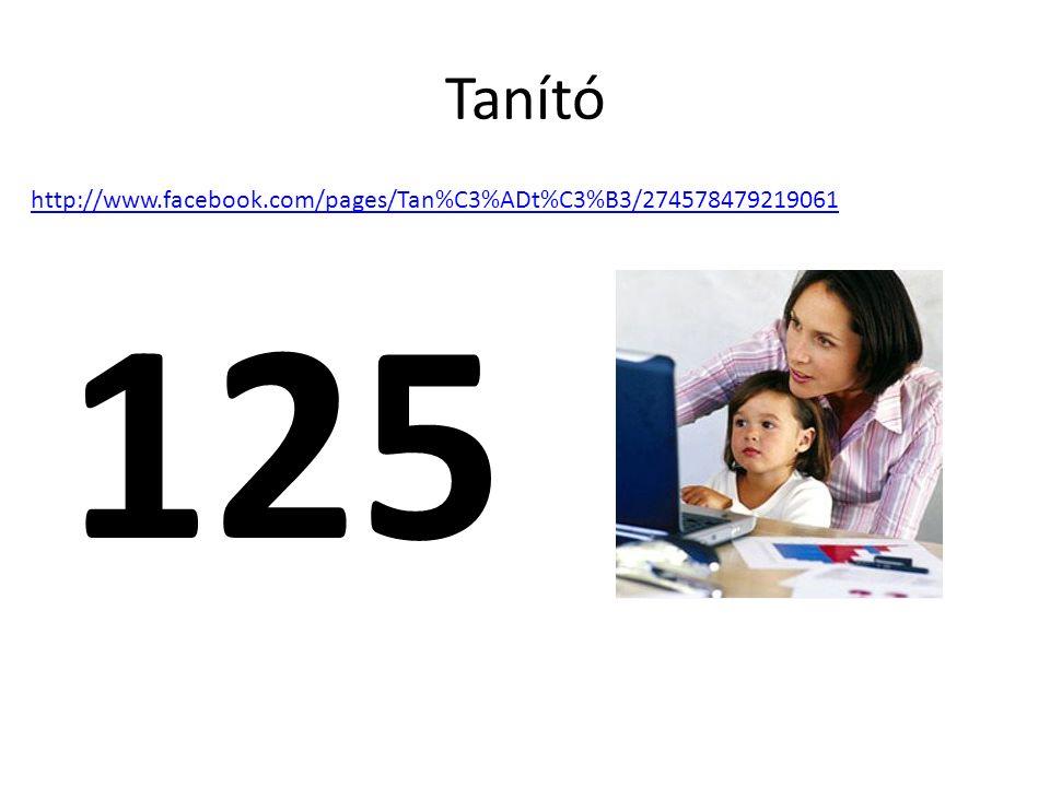Tanító 125 http://www.facebook.com/pages/Tan%C3%ADt%C3%B3/274578479219061