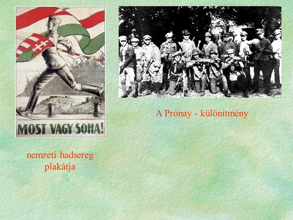 nemzeti hadsereg plakátja A Prónay - különítmény