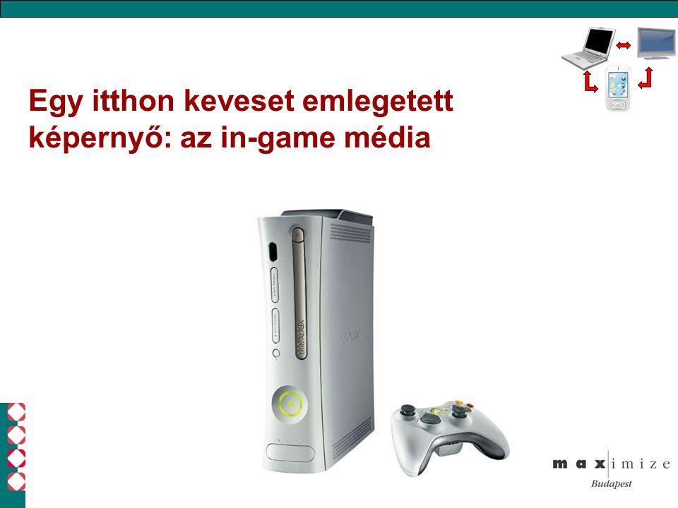 Egy itthon keveset emlegetett képernyő: az in-game média