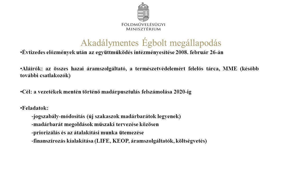 Akadálymentes Égbolt megállapodás Évtizedes előzmények után az együttműködés intézményesítése 2008.