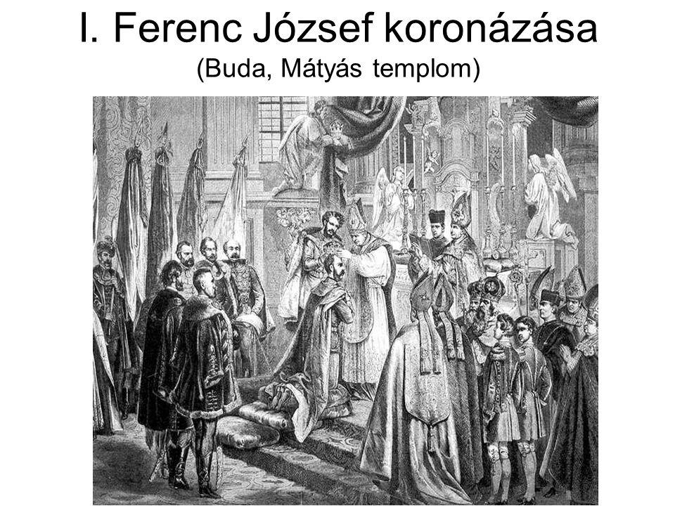 I. Ferenc József koronázása (Buda, Mátyás templom)