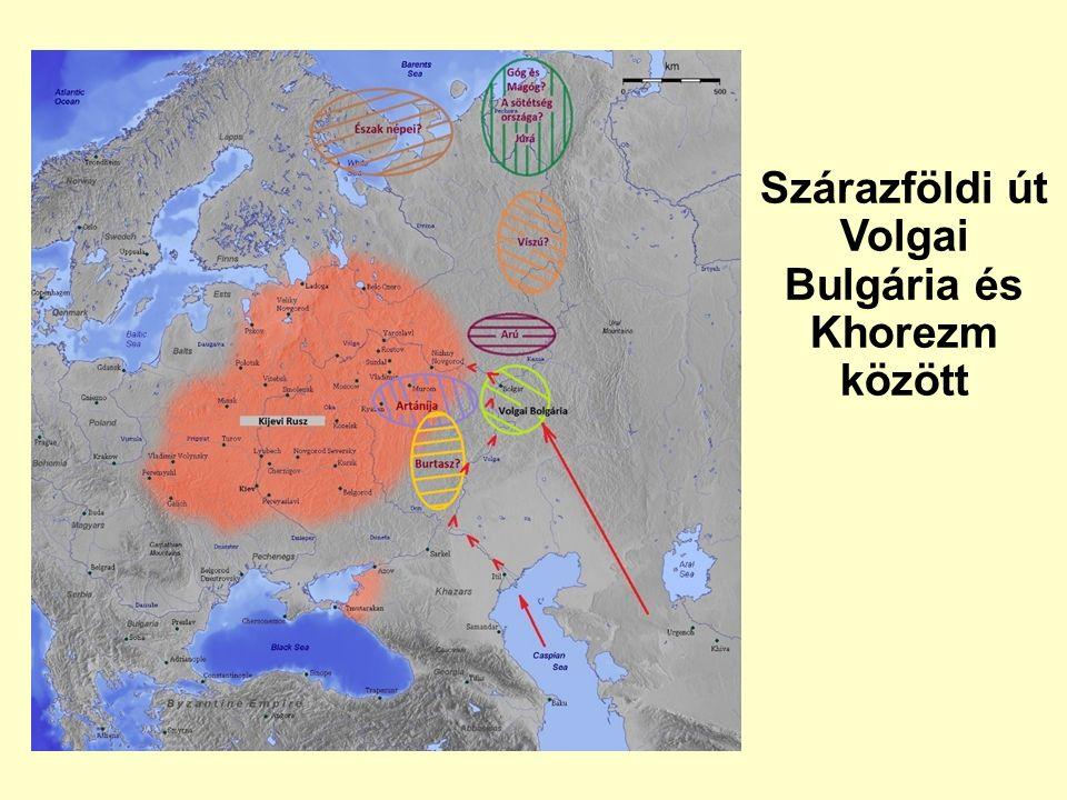 Szárazföldi út Volgai Bulgária és Khorezm között