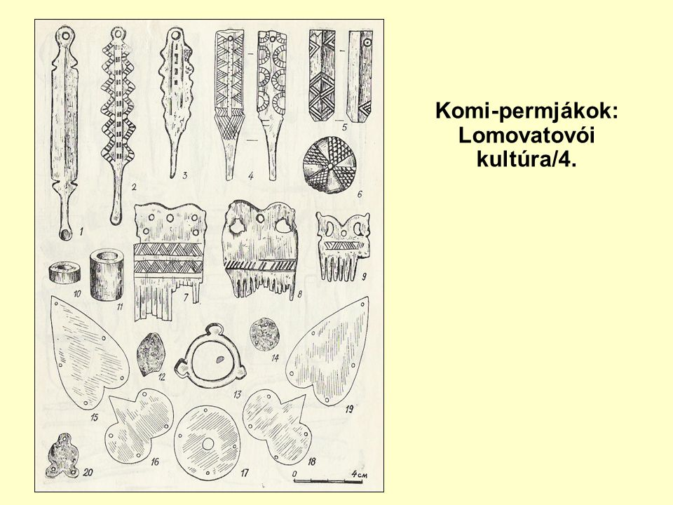 Komi-permjákok: Lomovatovói kultúra/4.