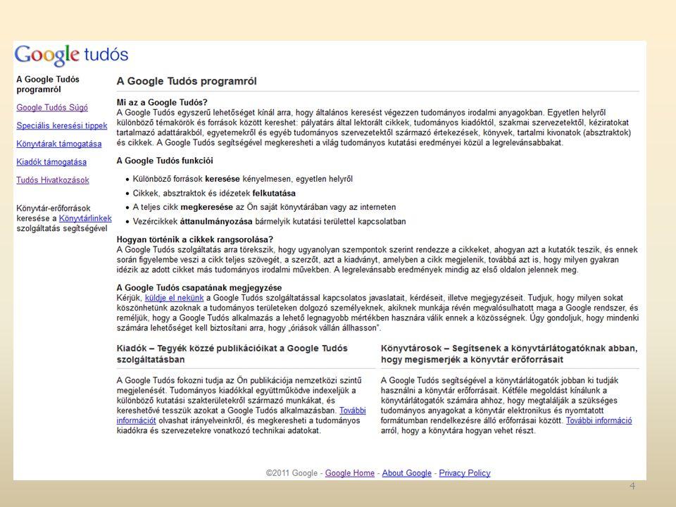 Tudományos források Web2-es szolgáltatásai RSS Twitter Blog Közösségi média 25