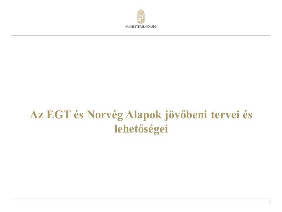 7 Az EGT és Norvég Alapok jövőbeni tervei és lehetőségei