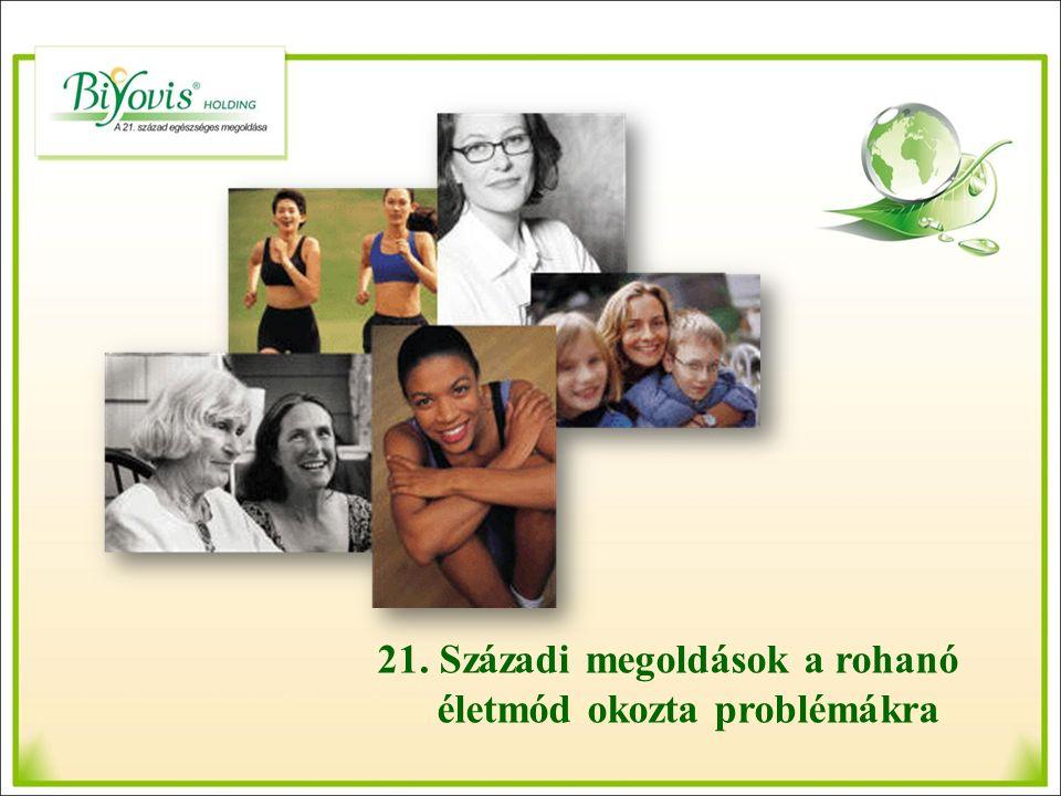 21. Századi megoldások a rohanó életmód okozta problémákra