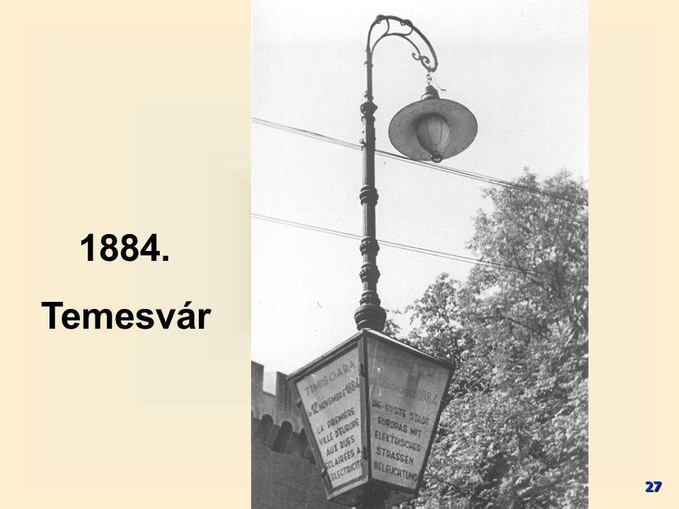 27 1884. Temesvár