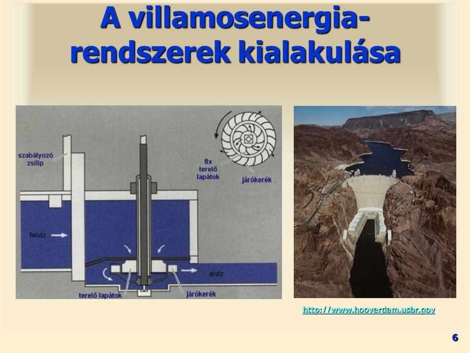 17 1940-es évektől1940-es évektől A villamosenergia- rendszerek kialakulása –Olaj és gázvezetékek hajtása –Szükségáramforrások 15 MW –Csúcsidejű generátorok 15-150 MW 25-35 % hatásfok25-35 % hatásfok