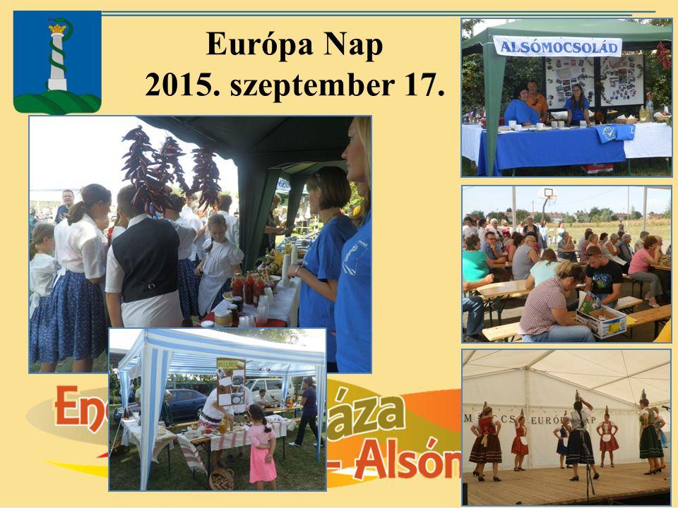 Európa Nap 2015. szeptember 17.