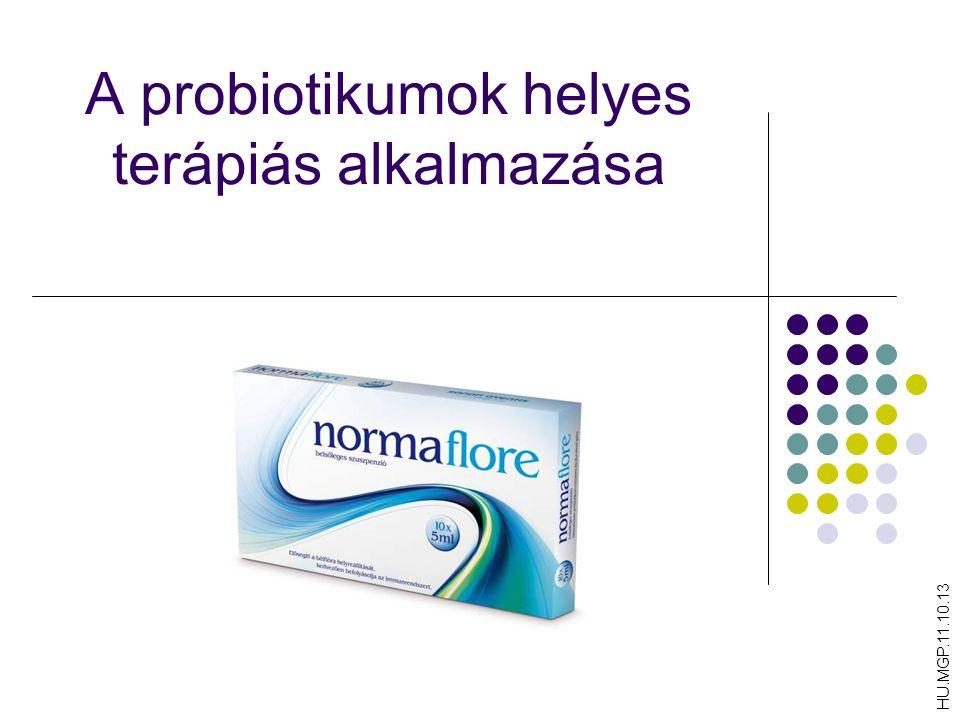 A probiotikumok helyes terápiás alkalmazása HU.MGP.11.10.13